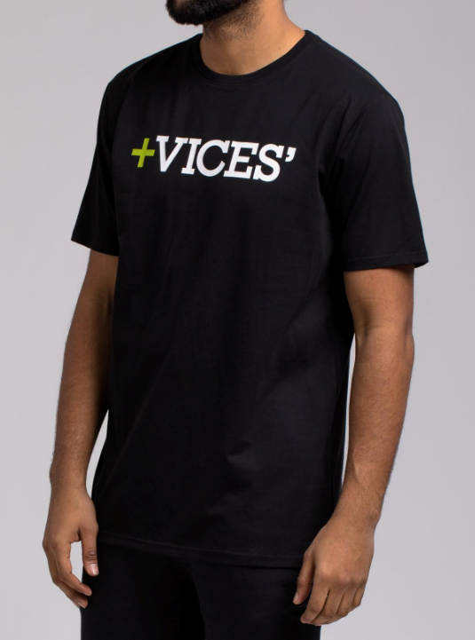 Vices SS Shirt Black H1052003 - cosign1975