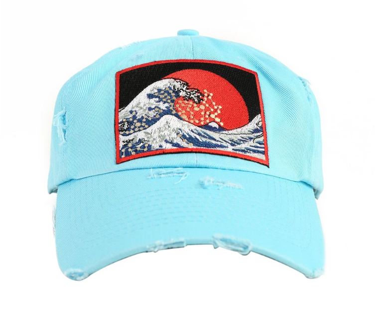 Hudson - The Wave Hat (H1052801KIT) - Aqua Blue - cosign1975