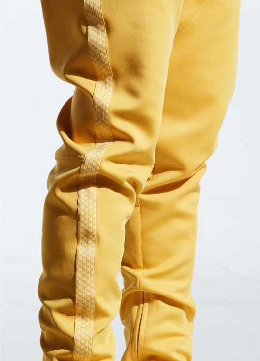 Karter Yellow Track Pants Stark (KRTRFA18-17) - cosign1975