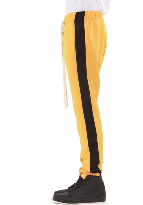 EPTM - TRACK PANTS (EP7933) - YELLOW AND BLACK