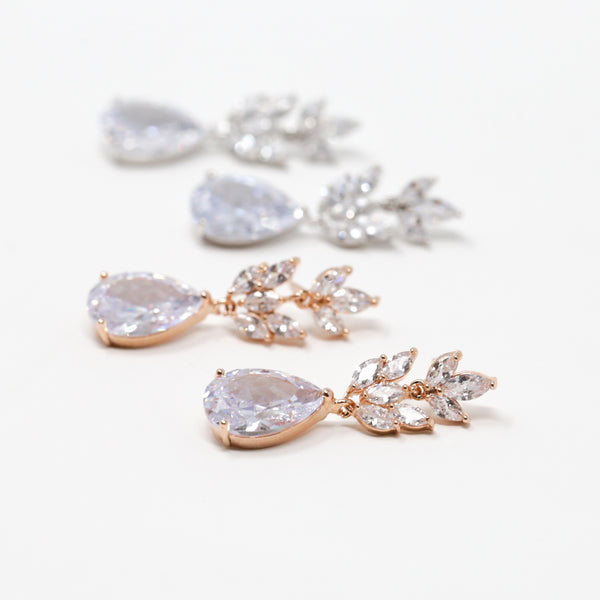 Bloom Crystal Earrings