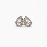 Crystal Ear Jacket Earrings