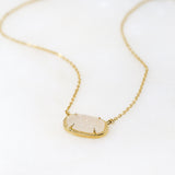 Druzy Kiss Necklace
