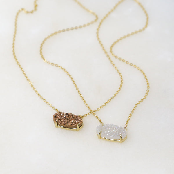Taste of Druzy Necklace