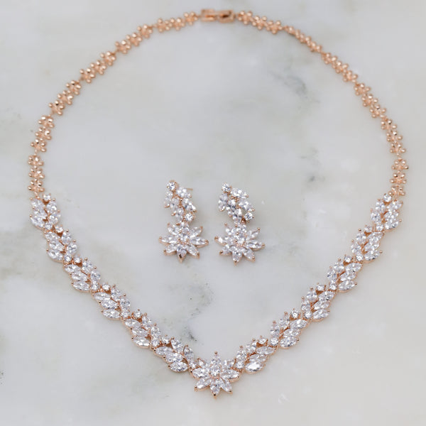 Alexis Necklace and Earrings Set