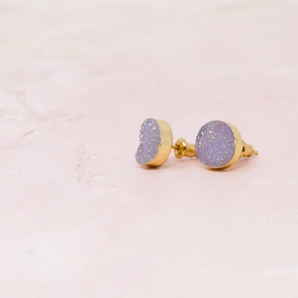 A Spot of Druzy Earrings