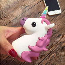 Load image into Gallery viewer, Emoji Unicorn PowerBank Charger