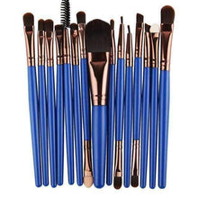 Load image into Gallery viewer, Pro 15Pcs Makeup Brush Set - Multiple Colors