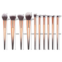 Load image into Gallery viewer, 10pcs Makeup Brush Set
