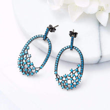 Load image into Gallery viewer, Blue Classic Party Earrings