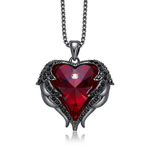 Load image into Gallery viewer, Heart Wings Pendant Swarovski® Crystal