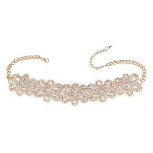 Crystal Cut Out Choker