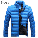 Winter Solid Men Jackets Spring Men's Cotton Blend Mens Jacket And Coats Casual Thick Outwear Plus Clothing Male 4XL YN668