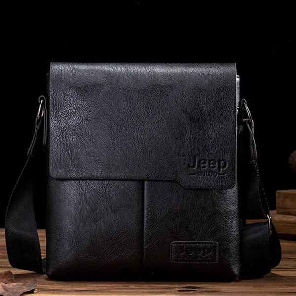 Famous Brand Men Tote Bags New Fashion Man Leather Messenger Bag Male Cross Body Shoulder Business Bags For Men JP1505