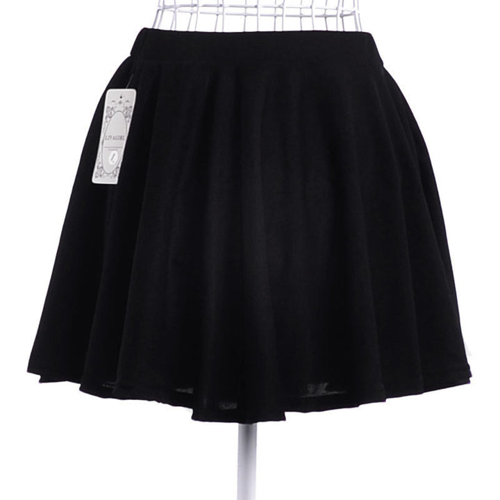 New Summer Solid Empire Skirt Free Shipping Casual Mini Skirt Drop Shipping Female Skirt 8 Colors