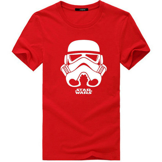 100%Cotton STAR WARS men t shirt 2016 casual letter printed top quality short sleeve man t-shirts camisetas hombre tees shirts