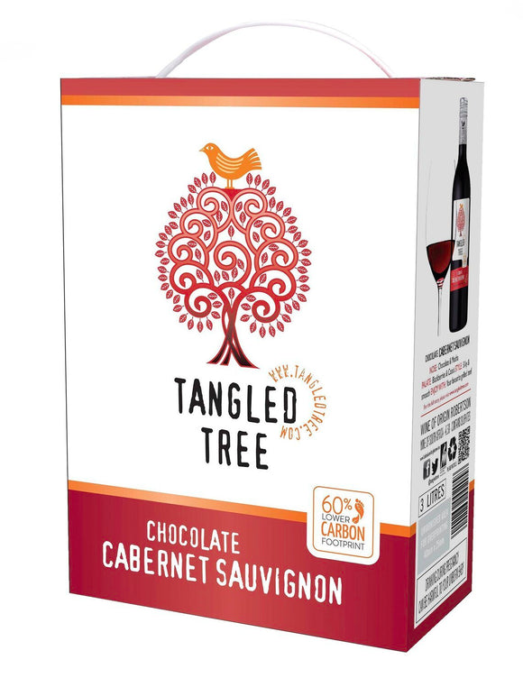 TANGLED TREE - CHOCOLATE CABERNET SAUVIGNON - 1 x 3L