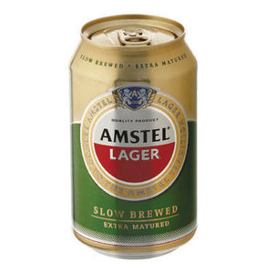 AMSTEL Lager Can - 340ml