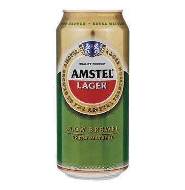 AMSTEL Lager Can - 440ml