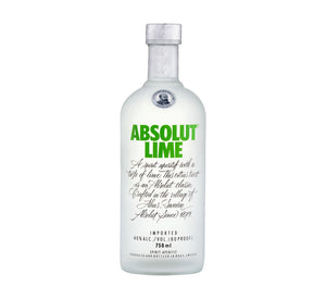 Absolut Lime Vodka (1 x 750 ml)