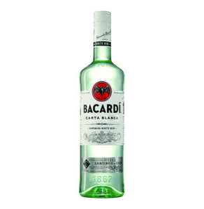 BACARDI Carta Blanca Superior Rum (1 x 750ml)