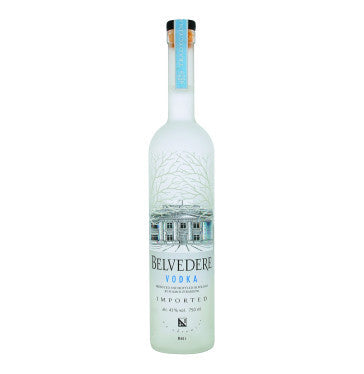 BELVEDERE Imported Vodka (1 x 750ml)