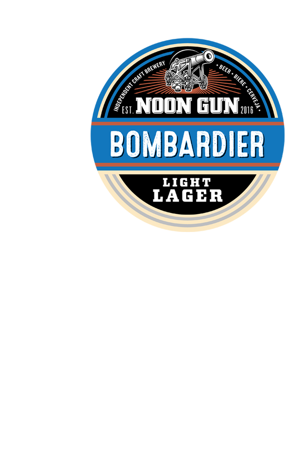 Noon Gun - BOMBARDIER LIGHT LAGER - 330ml