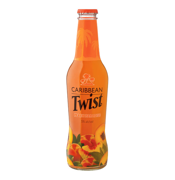 CARIBBEAN TWIST Peach Paradise Spirit Cooler (24 x 275ml)