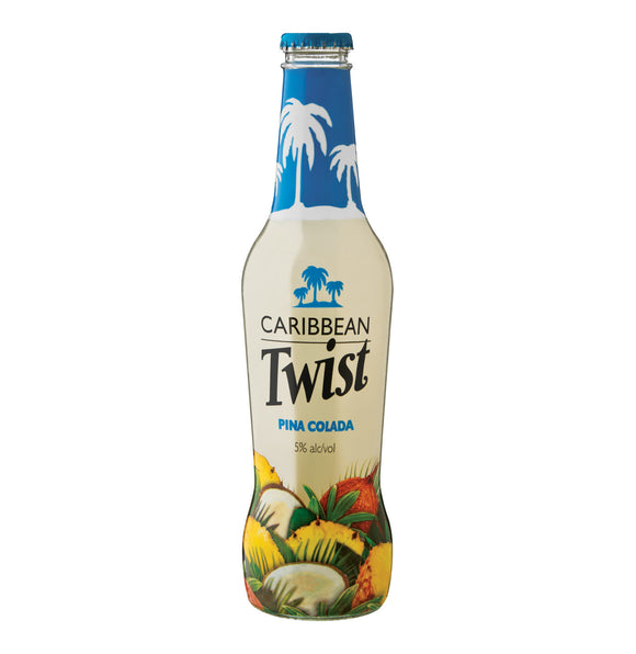 CARIBBEAN TWIST Pina Colada Spirit Cooler (24 x 275ml)