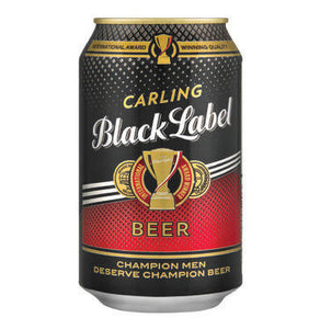 CARLING Black Label Can - 330ml