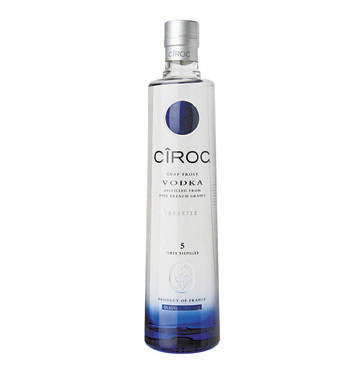 CIROC Premium Imported Vodka (1 x 750 ml)