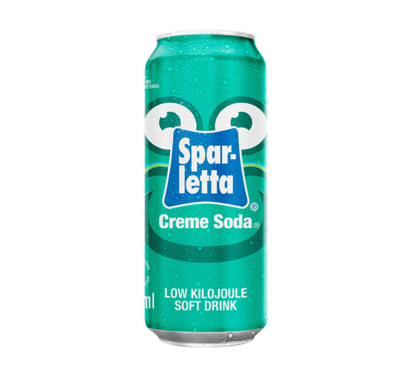 SPARLETTA Soft Drink Can Cream Soda (24 x 300ml)