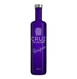CRUZ Berrylicious Vodka (1 x 750ml)