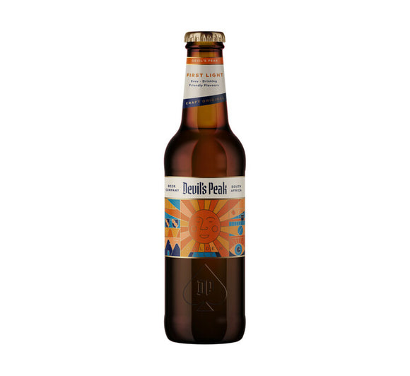 Devil's Peak - First Light Golden Ale - 330ml