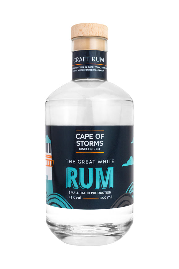 CAPE OF STORMS - The Great White Rum (1 x 500ml)
