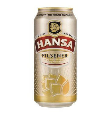 HANSA Pilsener Can - 500ml