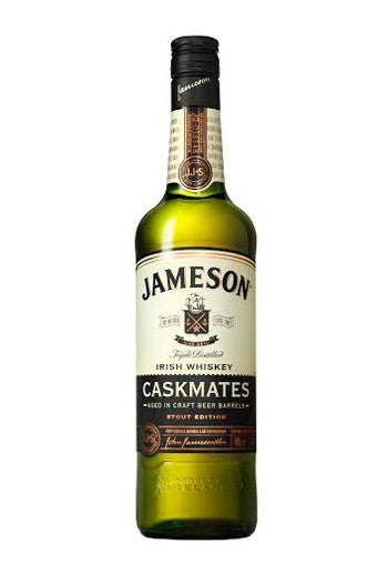 JAMESON Caskmates IrishTriple Distilled Whiskey Stout Edition (1 x 750ml)