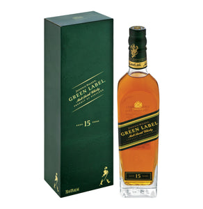 JOHNNIE WALKER Green Label 15 YO Scotch Whisky (1 x 750 ml)