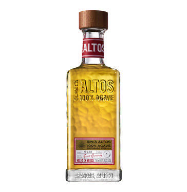 OLMECA Altos 100% Agave Reposado Imported Tequila (1 x 750ml)
