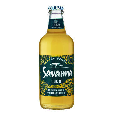 SAVANNA Loco Tequila Flavoured Cider (24x330ml)