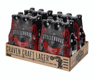 Stellenbrau - Craven Craft Lager - 330ml