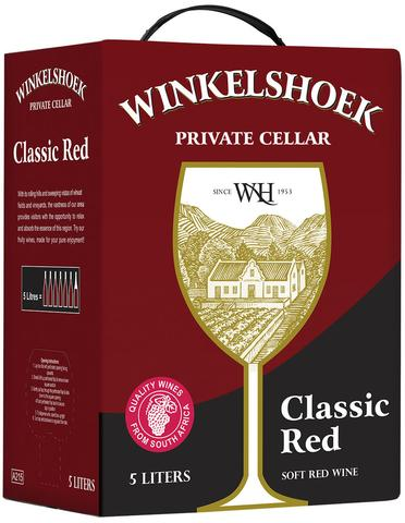 WINKELSHOEK - Soft Red Wine (1 x 5L)