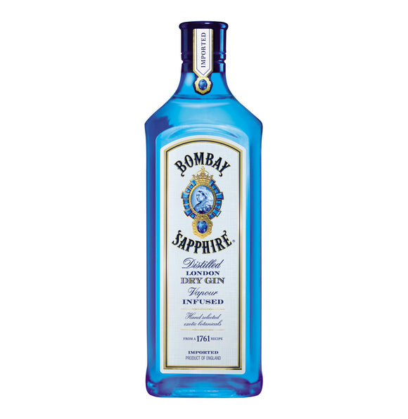 BOMBAY Sapphire Imported Gin (1 x 750ml)