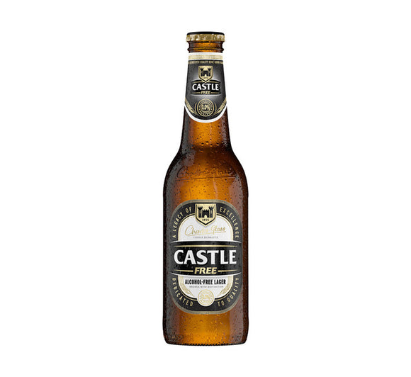 CASTLE Alcohol Free Lager NRB - 340ml