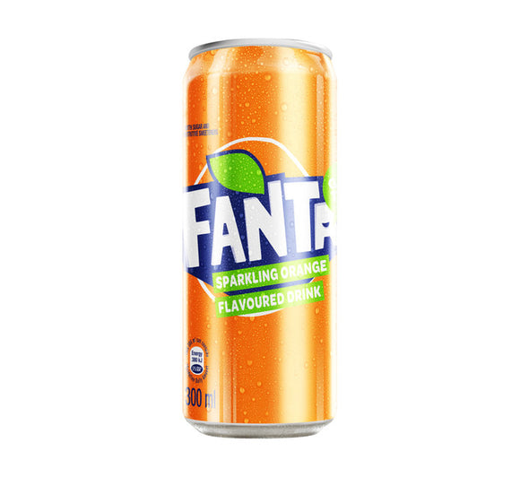 FANTA Soft Drink Can Orange (24 x 300ml)