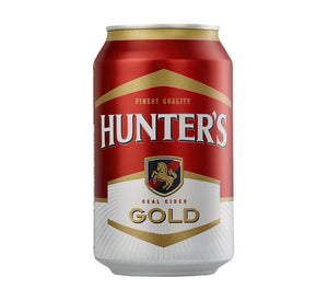 HUNTERS Gold Can (24x330ml)