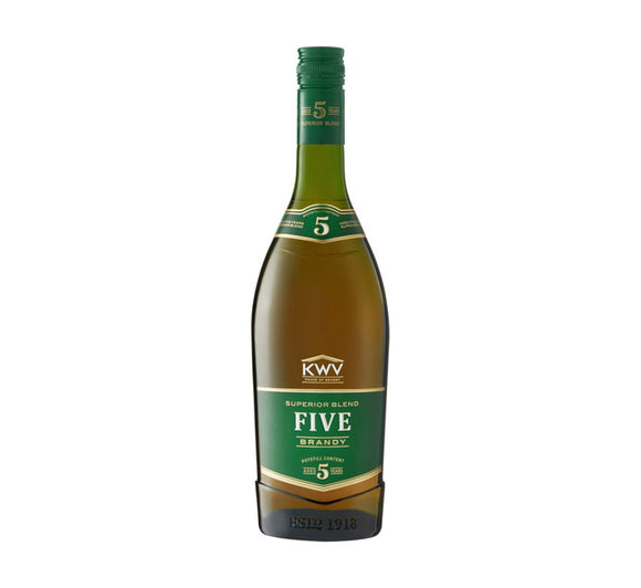 KWV 5 YO Brandy (1 x 750ml)