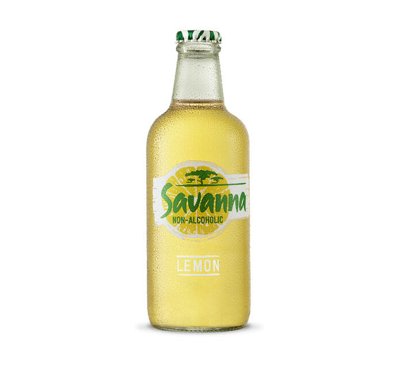 SAVANNA Non-Alcoholic Lemon NRB (24 X 330ml)