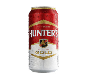 HUNTERS Gold Can (6x440ml)