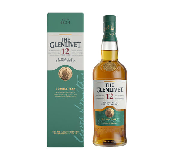 THE GLENLIVET 12 YO Single Malt Scotch Whisky (1 x 750ml)